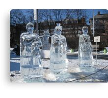 Ice sculptures-1 Canvas Print