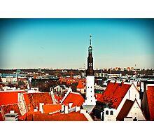 Old Town of Tallinn Photographic Print