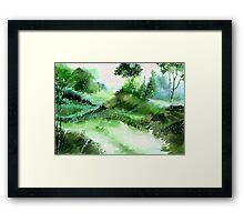 Morning Walk 1 Framed Print