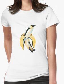 PINGUNANA Womens Fitted T-Shirt