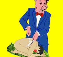 It's a Pig-Eat-Man World by Trupti Lyndon
