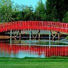 The Footbridge by Larry Trupp