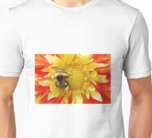 Flaming Summer with hashtag Unisex T-Shirt
