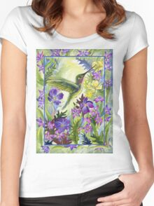 Wild Nectar Women's Fitted Scoop T-Shirt