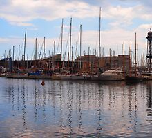 The Harbour Barcelona by clydeypops