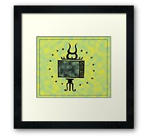 Holy Tv Framed Print
