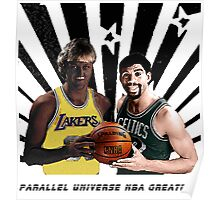 Parallel Universe NBA greatest Street Art Poster