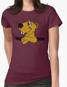 Golden Gopher Vintage Womens Fitted T-Shirt