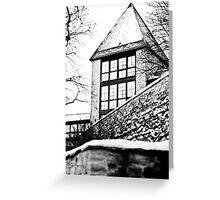 Winter in Tallinn Greeting Card