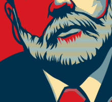 "Federal Reserve Chair Ben Bernanke ""Destroy"" Sticker"