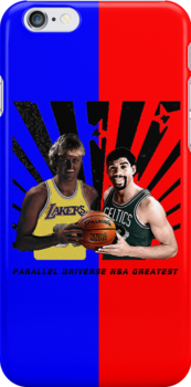 Parallel Universe NBA greatest Street Art by dashiner