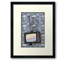 Lovey Tv Framed Print