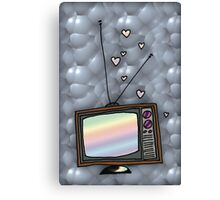 Lovey Tv Canvas Print