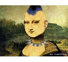 Punka Lisa Street Art Photographic Print