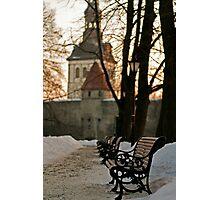 Winter in Tallinn Photographic Print