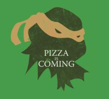 Pizza is Coming (Turtle Green Version) One Piece - Short Sleeve