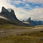 Akshayuk Pass - Baffin Island, Canada by Phil McComiskey
