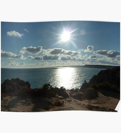 Algarve sun Poster