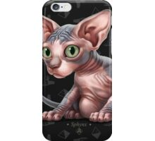 Cataclysm - Sphynx Kitten - Sphinx and Pyramids iPhone Case/Skin