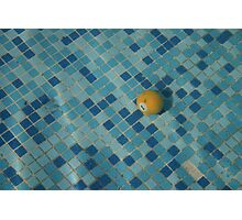 Anyone for pool? Photographic Print