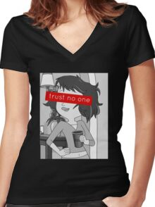 Rick and Morty (Tammy) Women's Fitted V-Neck T-Shirt