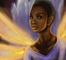 Dragonfly Fire-Faerie by georgiagoddard