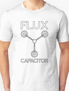 Flux Capacitor - Black T-Shirt