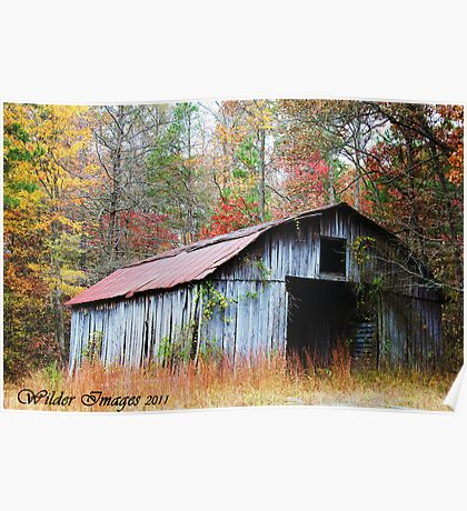 Barn in the Fall Poster