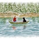 Fishing Buddies by Sarah Countiss