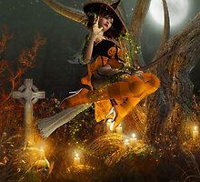 Autumn Hallowe's Eve  by Fiery-Fire