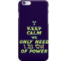 1.21 GW of Power iPhone Case/Skin