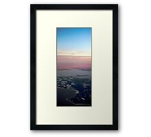 Hiiumaa from Above Framed Print