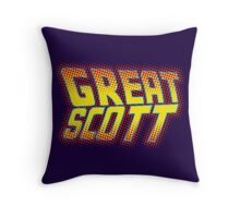 Great Scott Throw Pillow