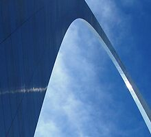 St. Louis, Arch detail by Lucy Albert