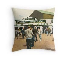 Plymouth Argyle Throw Pillow
