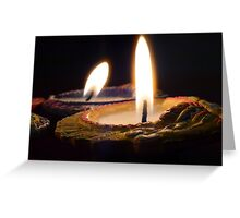 candle lit - another.. Greeting Card