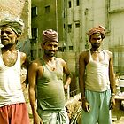 Delhi Construction Workers by Valerie Rosen