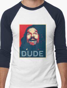 Dude Men's Baseball ¾ T-Shirt