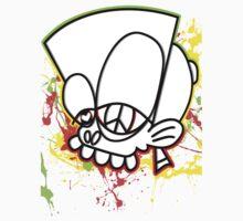 MrBisto Head tee design, Rasta edition....  by MrBisto
