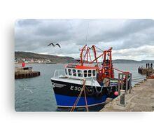 Spanish Eyes ~ Lyme Regis Canvas Print