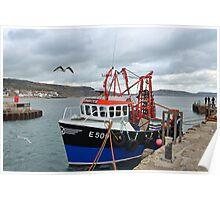Spanish Eyes ~ Lyme Regis Poster