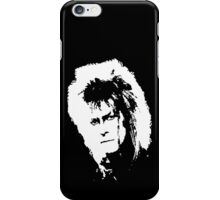 Jareth's Face - White - Labyrinth iPhone Case/Skin