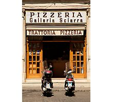 Time for a pizza Photographic Print