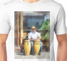 Musicians - Playing Bongo Drums Unisex T-Shirt