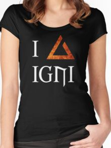 The Witcher 3 - I love Igni Women's Fitted Scoop T-Shirt