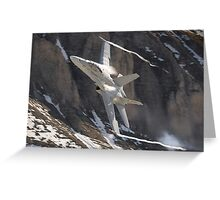 F/A-18 Hornet J-5023  Greeting Card