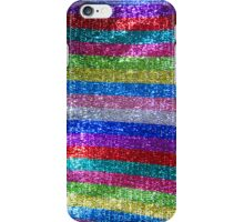 Rainbow Glitz and Glitter iPhone Case/Skin
