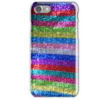 Rainbow Glitz and Glitter iPhone Case/Skin