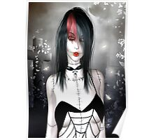 Beautiful Gothic Doll Poster