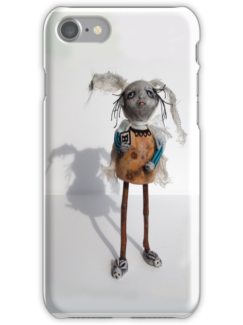 Betty Weird  iphone funny cool by LindaAppleArt